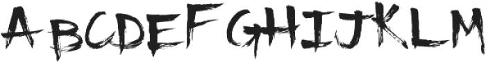 Raid otf (400) Font LOWERCASE