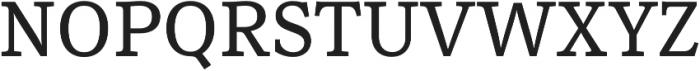 Rail Caption otf (400) Font UPPERCASE