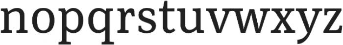 Rail Caption otf (400) Font LOWERCASE