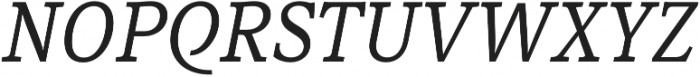 Rail otf (400) Font UPPERCASE