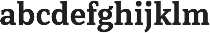 Rail otf (700) Font LOWERCASE