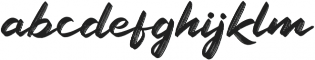 Railly otf (400) Font LOWERCASE