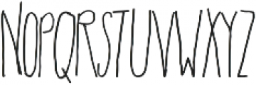 Rainbows Queen Cool Light otf (300) Font LOWERCASE