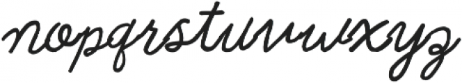 Rainbows Queen Curly otf (400) Font LOWERCASE