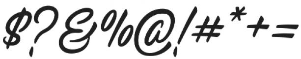 Raitons otf (400) Font OTHER CHARS