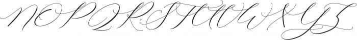 Raja Ampat Script ttf (400) Font UPPERCASE