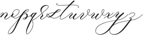 Raja Ampat Script ttf (400) Font LOWERCASE