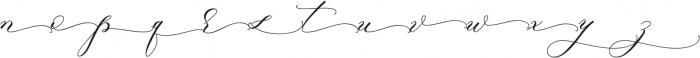 RajaAmpat Swsh otf (400) Font LOWERCASE