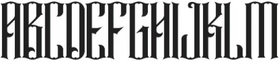 Rajawaley ttf (400) Font UPPERCASE