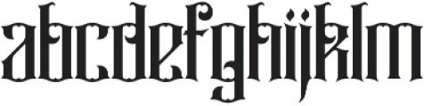 Rajawaley ttf (400) Font LOWERCASE