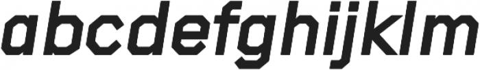 Raker Display Heavy Italic otf (800) Font LOWERCASE