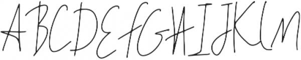 Rakhino otf (400) Font UPPERCASE
