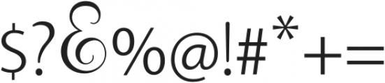 Rallisha Regular ttf (400) Font OTHER CHARS