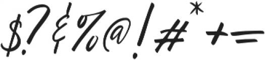 Ralyne otf (400) Font OTHER CHARS