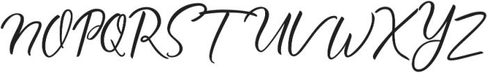 Ralyne otf (400) Font UPPERCASE