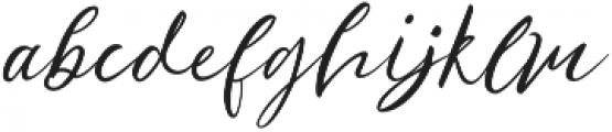 Ralyne otf (400) Font LOWERCASE