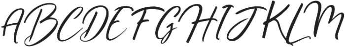Ralyne ttf (400) Font UPPERCASE