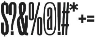 Rama Gothic C Bold otf (700) Font OTHER CHARS
