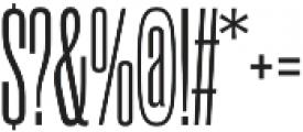 Rama Gothic C Regular otf (400) Font OTHER CHARS