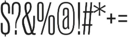 Rama Gothic M Light otf (300) Font OTHER CHARS