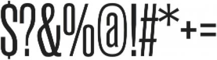 Rama Gothic M Regular otf (400) Font OTHER CHARS