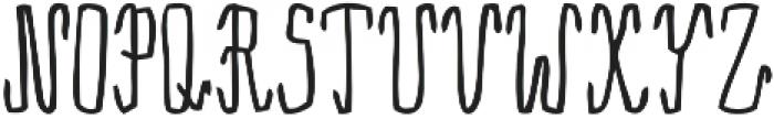 Rama Regular otf (400) Font UPPERCASE