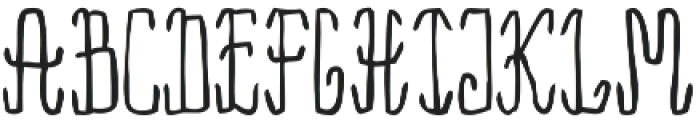 Rama Regular otf (400) Font LOWERCASE