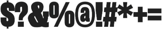 Rama Slab E Heavy otf (800) Font OTHER CHARS