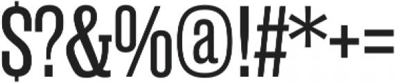 Rama Slab E Regular otf (400) Font OTHER CHARS