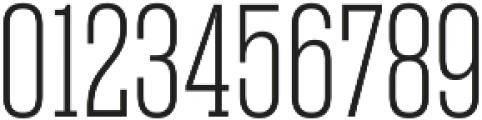 Rama Slab E Thin otf (100) Font OTHER CHARS