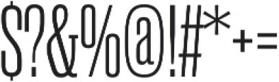 Rama Slab M Light otf (300) Font OTHER CHARS