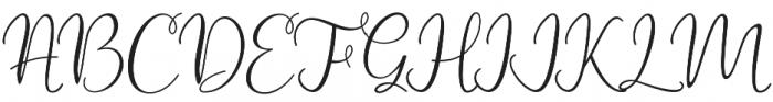 Ramberos otf (400) Font UPPERCASE