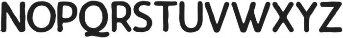 Ramblin Sans Regular otf (400) Font UPPERCASE
