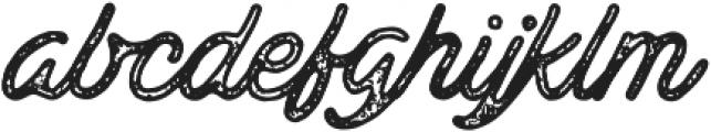 Ramblin Vintage otf (400) Font LOWERCASE
