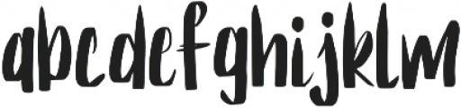 Ramen ttf (400) Font LOWERCASE