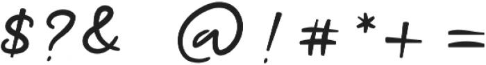 Ramone Script Bold Bold otf (700) Font OTHER CHARS
