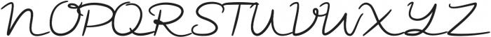 Ramone Script Bold Bold otf (700) Font UPPERCASE