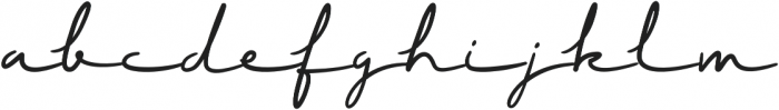 Ramone Script Bold Bold otf (700) Font LOWERCASE
