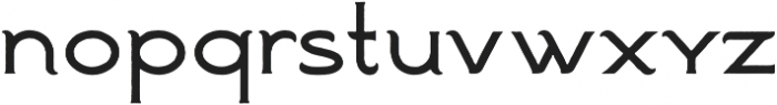 Ranch Simple otf (400) Font LOWERCASE