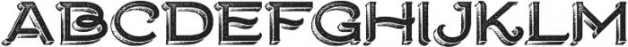 Ranch otf (400) Font UPPERCASE