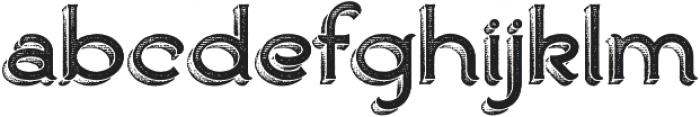Ranch otf (400) Font LOWERCASE