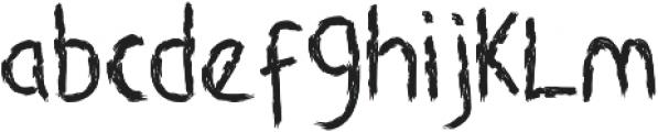 Rancha otf (400) Font LOWERCASE