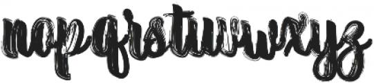 Randoem Brush ttf (400) Font LOWERCASE