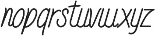Randusary Monoline otf (400) Font LOWERCASE