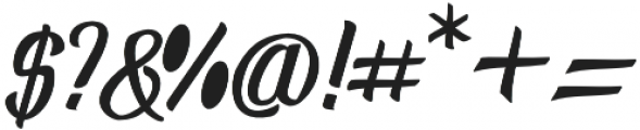 Randusary Script otf (400) Font OTHER CHARS