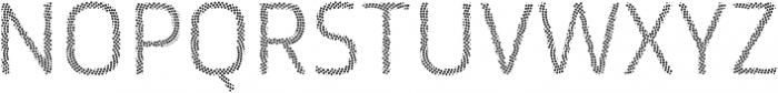 Ranelte Deco Dot ttf (400) Font UPPERCASE