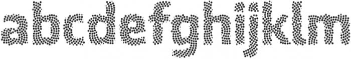 Ranelte Deco Dot ttf (700) Font LOWERCASE