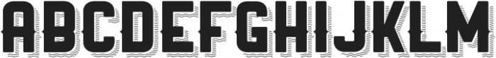 Ranger ttf (400) Font UPPERCASE