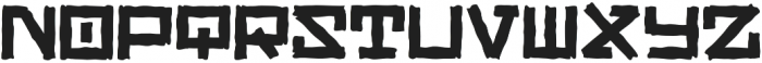 Rangly otf (400) Font UPPERCASE