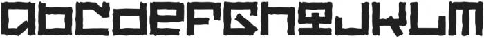 Rangly otf (400) Font LOWERCASE